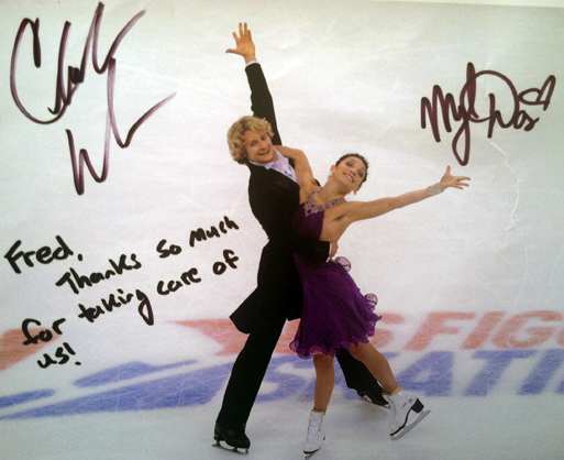Meryl Davis and Charlie White, Olympic Ice Dancing